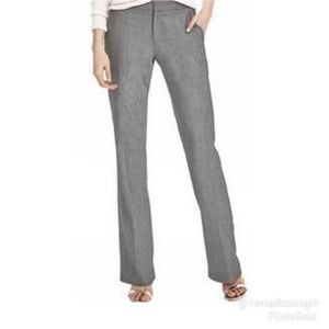 Banana Republic linen wide leg pants gray 10 Long